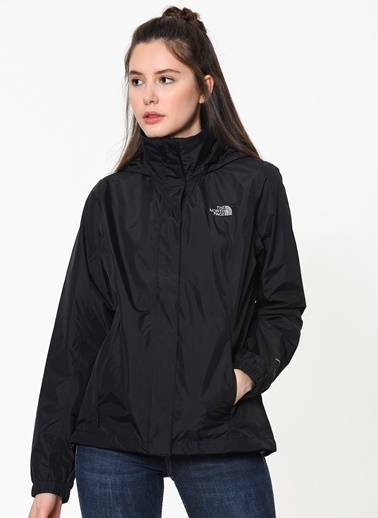 The North Face The North Face Resolve 2 Kadın Outdoor Ceket Tnf Black Siyah